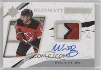 Ultimate Rookies Auto - Will Butcher /49