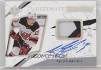 2018-19 Upper Deck Ultimate Collection Update - Nico Hischier #/49