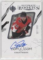 Ultimate Rookies Autographs - Colin White #/399