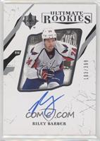 Ultimate Rookies - Riley Barber (Autographed) #/399