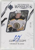 Ultimate Rookies Autographs - Charlie McAvoy /99