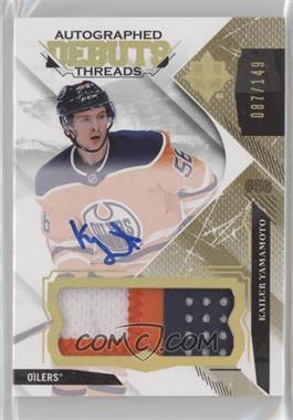 2017-18 Ultimate Collection - Debut Threads Patch #DTA-KY - Auto - Kailer Yamamoto /149