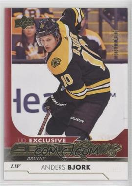 2017-18 Upper Deck - [Base] - Exclusives #203 - Young Guns - Anders Bjork /100
