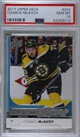 Young Guns - Charlie McAvoy [PSA 10 GEM MT]