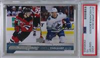 Young Guns - Nico Hischier, Brock Boeser [PSA 10 GEM MT]