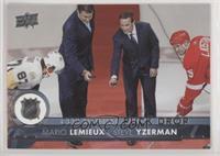 Mario Lemieux, Steve Yzerman