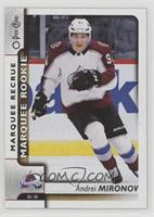 Marquee Rookies - Andrei Mironov