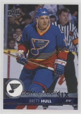 2017-18 Upper Deck - The Second Six #S6-16 - Brett Hull