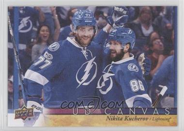 2017-18 Upper Deck - UD Canvas #C77 - Nikita Kucherov