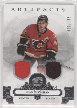 2017-18 Upper Deck Artifacts - [Base] - Silver Materials [Memorabilia] #85 - Sean Monahan /165