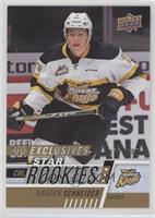 Star Rookies - Braden Schneider #/100