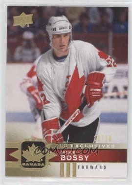 2017-18 Upper Deck Canadian Tire Team Canada - [Base] - Gold UD Exclusives #132 - Mike Bossy /10
