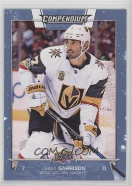 2017-18 Upper Deck Compendium - [Base] - Blue #817 - Jason Garrison