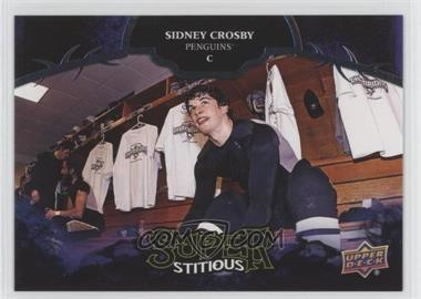 2017-18 Upper Deck Compendium - SUPERstitious #S-SP - Achievement - Sidney Crosby