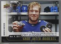(Nov. 4, 2017) - Rookie Phenom Boeser Takes Down Pens with First Career Hat Tri…