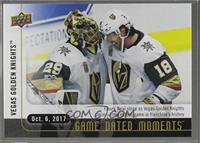 (Oct. 6, 2017) - First Game in Franchise History for VGK