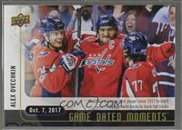 (Oct. 7, 2017) - Ovechkin Becoms First Player in 100 Years to Start Off Season …