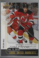(Feb. 15, 2018) – Taylor Hall Breaks Devils' Record for Consecutive Games with …