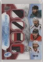 Brent Burns, Drew Doughty, Erik Karlsson, Duncan Keith #/15