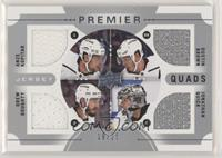 Anze Kopitar, Dustin Brown, Drew Doughty, Jonathan Quick #/25