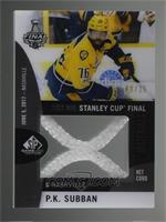 P.K. Subban [Noted] #/25