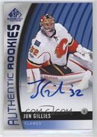 Authentic Rookies - Jon Gillies