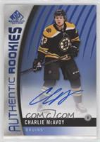 Authentic Rookies - Charlie McAvoy