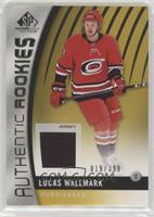 Authentic Rookies - Lucas Wallmark /399