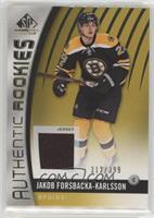 Authentic Rookies - Jakob Forsbacka-Karlsson #/399