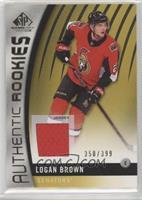 Authentic Rookies - Logan Brown #/399