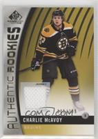 Authentic Rookies - Charlie McAvoy #/399