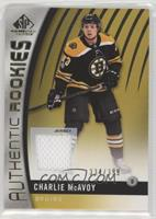 Authentic Rookies - Charlie McAvoy /399