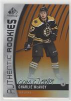 Authentic Rookies - Charlie McAvoy /116
