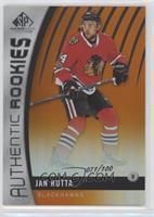 Authentic Rookies - Jan Rutta #/100