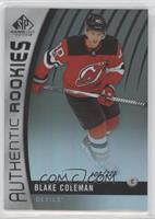 Authentic Rookies - Blake Coleman #/225