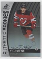 Authentic Rookies - Will Butcher #/222