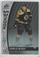 Authentic Rookies - Charlie McAvoy /219