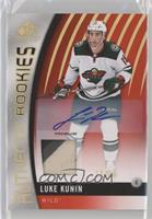 Authentic Rookies - Luke Kunin #/15