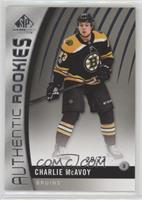 Authentic Rookies - Charlie McAvoy /73