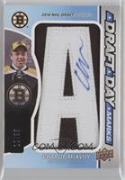 Charlie McAvoy [Noted] #/35