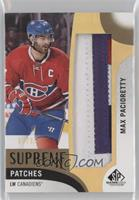 Max Pacioretty [Noted] #/15