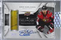 Erik Karlsson [Uncirculated] #/27