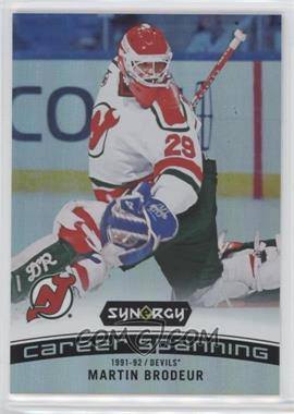 85b70f70c 2017-18 Upper Deck Synergy - Career Spanning  CS-3 - Martin Brodeur ...