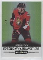Logan Brown #/4
