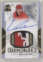 Rookie Patch Autograph - Lucas Wallmark #/24