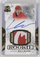 Rookie Patch Autograph - Lucas Wallmark #/24