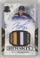 Rookie Patch Autograph - Tage Thompson #/24