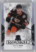 Rookie - Kevin Roy #/249
