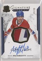 Max Pacioretty [Noted] #/99