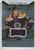 Rookie Premieres Level 1 - Charlie McAvoy /399
